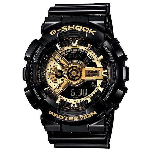 e471d0517cb6d3 Zegarek Casio Męski GA-110GB-1AER G-Shock czarny - Zegarki męskie marki  Casio. Za 598.00 zł. - Zegarki męskie - Akcesoria męskie - Akcesoria -  Sklep Radio ...