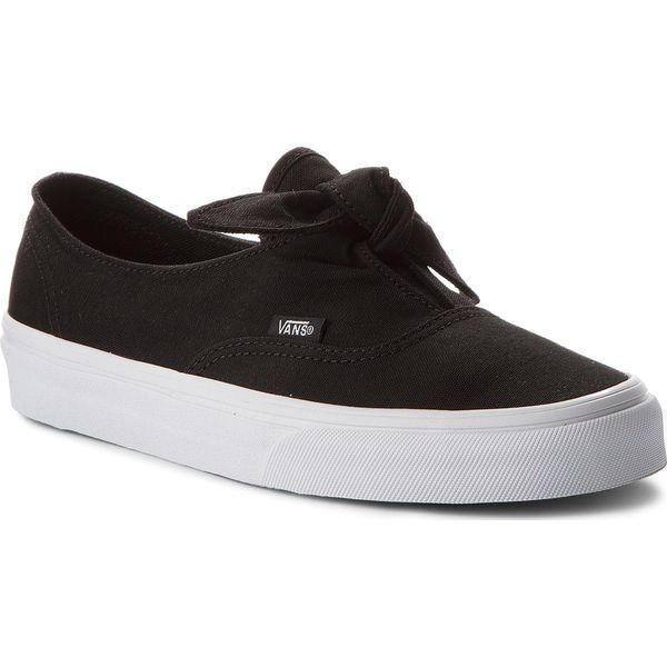 0a10a60128 Tenisówki VANS - Authentic Knotted VN0A3MU21WX (Canvas) Black True ...