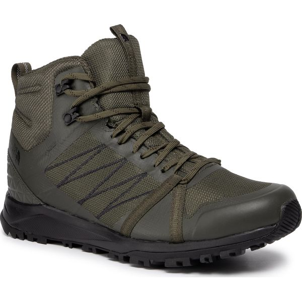 Trekkingi THE NORTH FACE Litewave Fastpack II Mid Gtx GORE TEX T93REBBQW New Taupe GreenTnf Black