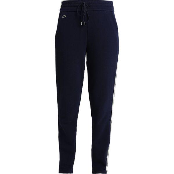4e426cfc50c98c Lacoste STRIPE TRACK PANT Spodnie treningowe navy blue/vanilla plant ...