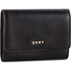 be91e4490091e Mały Portfel Damski DKNY - Bryant Card Case Id R82Z3503 Blk/Gold BGD 82.