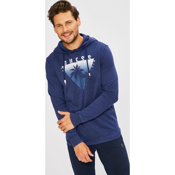 f1a6b50d3a95d Guess Jeans - Bluza - Bluzy sportowe męskie marki Guess Jeans. Za 329.90  zł. - Bluzy sportowe męskie - Odzież sportowa męska - Odzież męska - Odzież  - Sklep ...