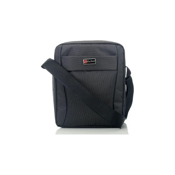 4e8d6617b2b5f Listonoszka męska raportówka torba na ramię - Czarne torby na ramię ...