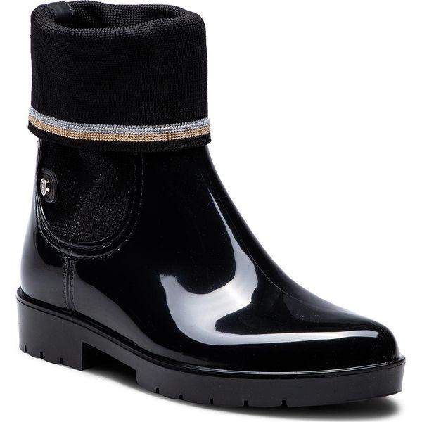 b9cd474b29b1b Kalosze TOMMY HILFIGER - Knitted Sock Rain Bo FW0FW03565 Black 990 ...