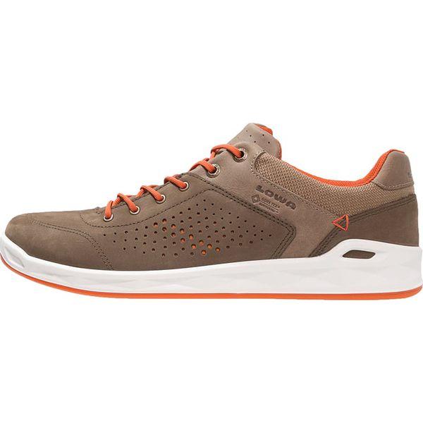 e8236b2c Lowa SAN FRANCISCO GTX Tenisówki i Trampki braun/orange - Brązowe buty  sportowe męskie Lowa, z materiału, tenisowe, Nike Roshe. W wyprzedaży za  524.25 zł.