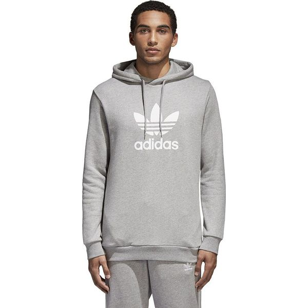 1e77def19 Adidas Bluza męska Originals Trefoil Warm-Up szara r. XL (CY4572 ...