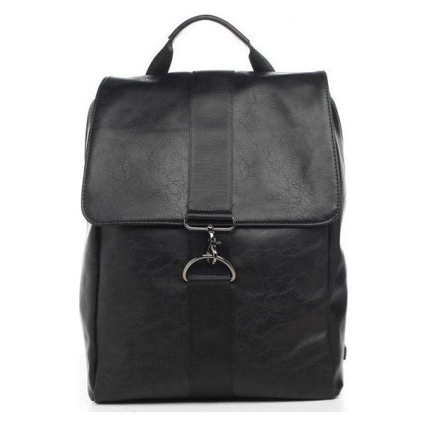 20b9f17065d81 Bobby Black Plecak Męski Czarny - Czarne plecaki męskie marki Bobby Black,  ze skóry ekologicznej. Za 244.00 zł. - Plecaki męskie - Akcesoria męskie ...
