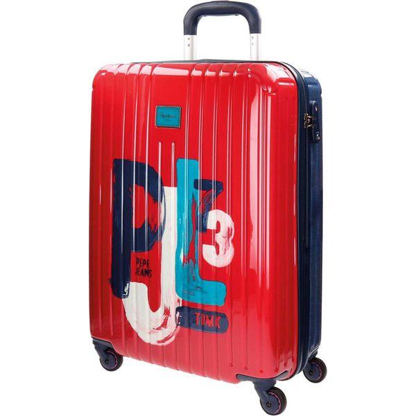 67d7e09a1f2e5 Walizka w kolorze czerwono-niebieskim - (S)40 x (W)55 x (G)20 cm ...