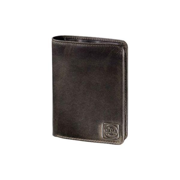 45360c6abd5b7 Portfel klasyczny HAMA H4 Paris ciemny brąz - Czarne portfele męskie marki  Hama