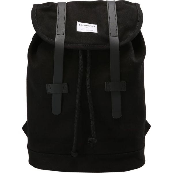 fcf27f3378c92 Sandqvist STIG MINI Plecak black - Czarne plecaki damskie marki ...