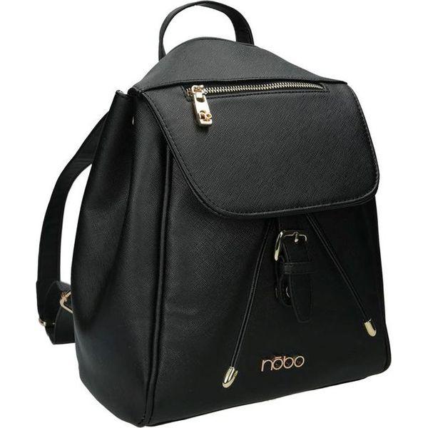 9e8cba09cedad Nobo Plecak damski NBAG-E0240-C020 czarny - Czarne plecaki damskie ...