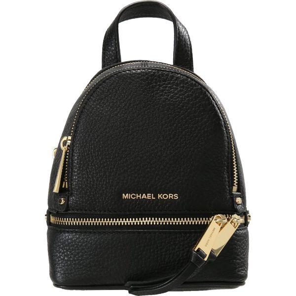 c3cf5af17ac6d MICHAEL Michael Kors RHEA ZIP BACKPACK Plecak black - Czarne plecaki ...