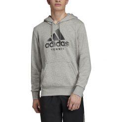 Wyprzedaż szare bluzy męskie Adidas Kolekcja zima 2020
