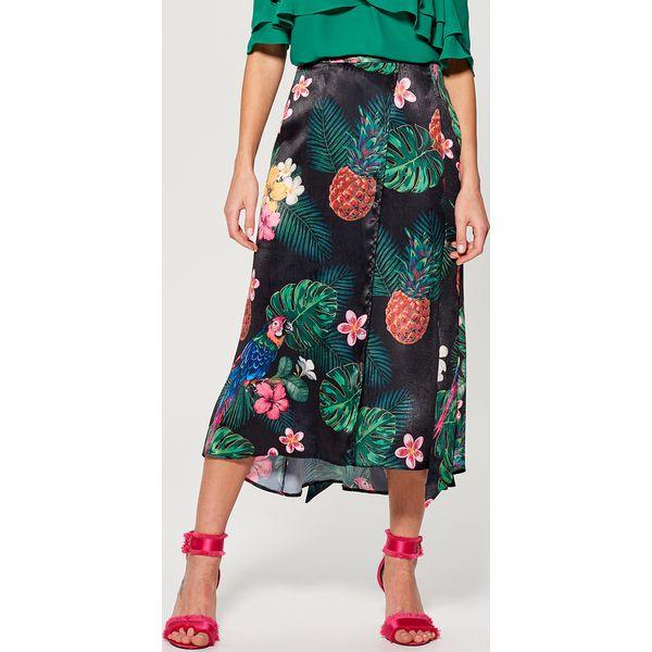 fbe22c76 Długa spódnica w kwiaty gold label - Wielobarwn