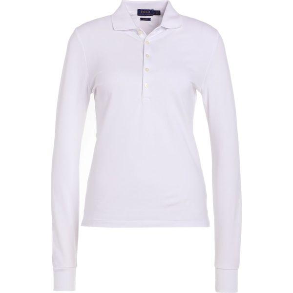 da6eb3d1ed Polo Ralph Lauren JULIE SLIM FIT Koszulka polo white - Białe bluzki ...