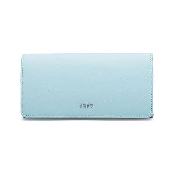 88075591a86e9 Skórzany portfel w kolorze błękitnym - (S)19 x (W)10 x (G)4 cm ...