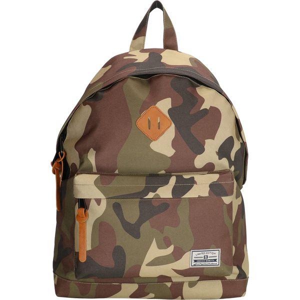 7a430eb655df5 Plecak w kolorze zielonym - 32 x 43 x 20 cm - Plecaki męskie . W ...