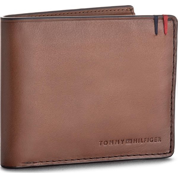 bddc6b6ab252d Duży Portfel Męski TOMMY HILFIGER - Burnished Mini Cc Wallet ...