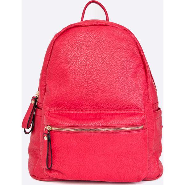 493a809dca368 Answear - Plecak - Czerwone plecaki damskie marki ANSWEAR, z ...