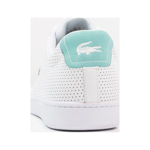 8f2fc4754 Lacoste CARNABY EVO Tenisówki i Trampki white/turquoise - Białe ...