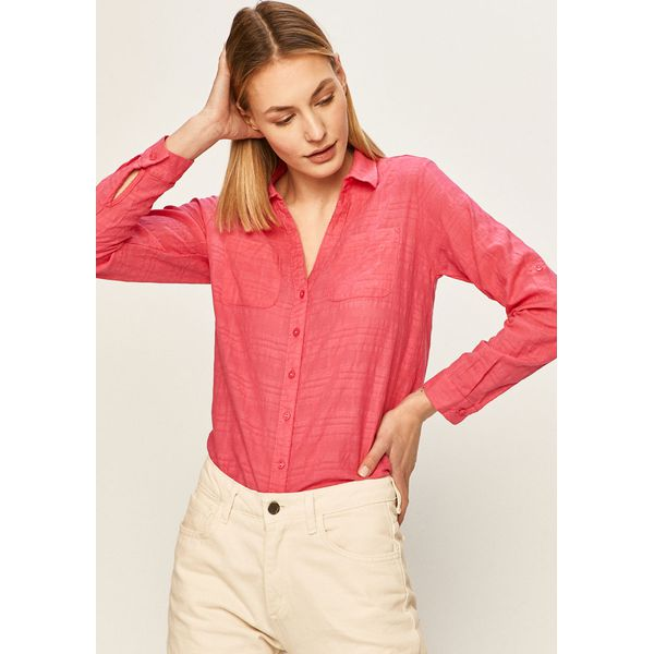 Answear Koszula Czerwone koszule damskie ANSWEAR, l, bez  0kmjo