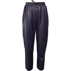 e76c3a9e612b0 ... Kolekcja wiosna 2019. -40%. Max Mara Leisure CELSO Spodnie materiałowe  dark blue. Spodnie materiałowe damskie marki Max Mara Leisure ...