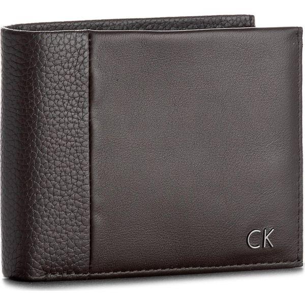 406aac134e78b Duży Portfel Męski CALVIN KLEIN - New Nathan 5Cc + Coin K50K503565 201 -  Brązowe portfele męskie marki Calvin Klein, ze skóry. W wyprzedaży za  239.00 zł.