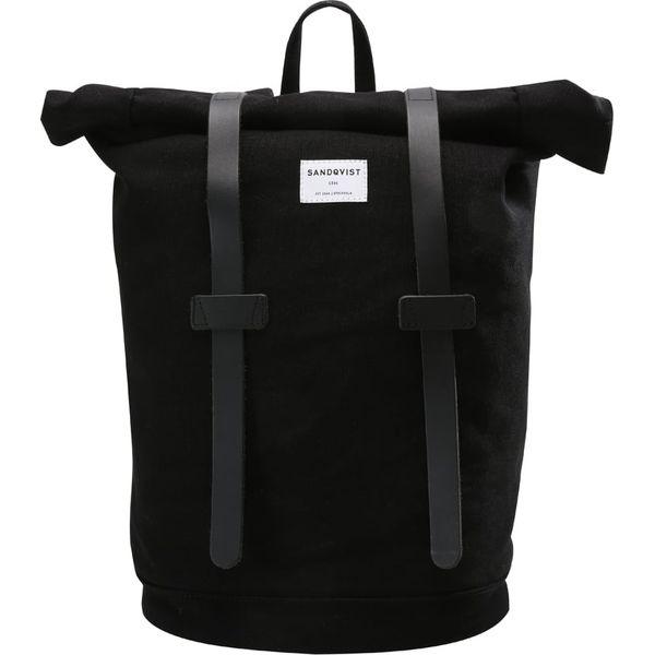 5064d942162b4 Sandqvist STIG ROLLTOP Plecak black - Czarne plecaki damskie marki ...
