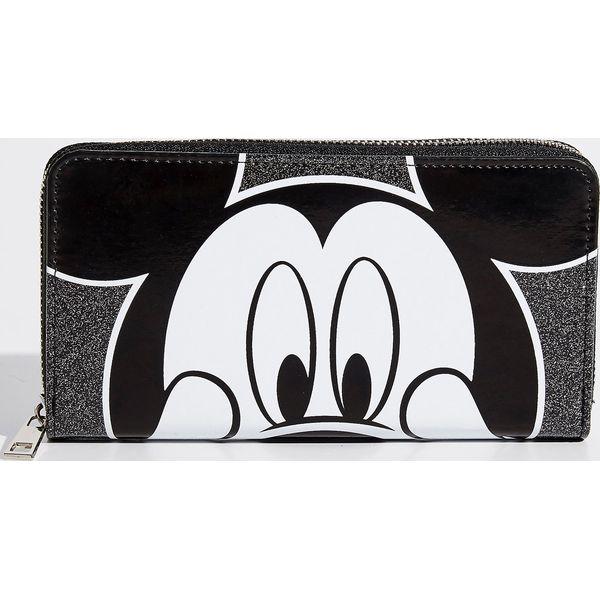 b37e5d5d9c2d5 Portfel Mickey Mouse - Czarny - Czarne portfele damskie marki Sinsay. Za  29.99 zł. - Portfele damskie - Akcesoria damskie - Akcesoria - Sklep Radio  ZET