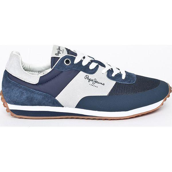 138237829a996 Szare buty sportowe męskie marki Pepe Jeans - Kolekcja zima 2019 - Sklep  Radio ZET