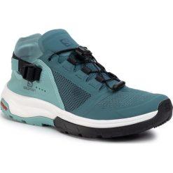 Niebieskie obuwie damskie Salomon Kolekcja zima 2020
