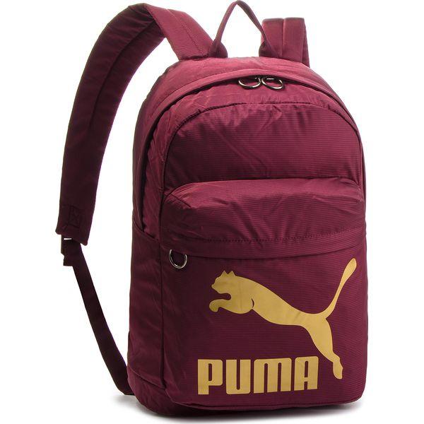 cec3c5cb541e5 Plecak PUMA - Originals Backpack 074799 11 Fig Gold - Plecaki damskie marki  Puma. W wyprzedaży za 129.00 zł. - Plecaki damskie - Torby i plecaki damskie  ...