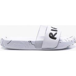 Białe klapki damskie Puma Kolekcja jesień 2019 Sklep