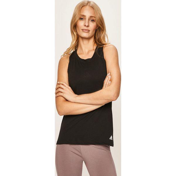Topy Adidas Performance Essentials Czarny Damskie