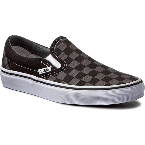 Tenisówki VANS Classic Slip On VN000EYEBPJ BlackPewter Checkerboard