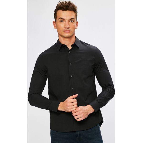 bf8a40d58 Calvin Klein Jeans - Koszula - Szare koszule męskie marki Calvin ...