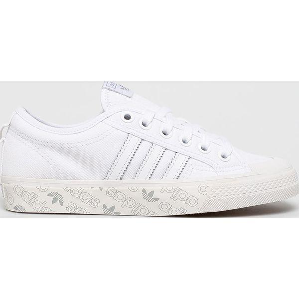 adidas białe trampki damskie