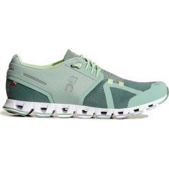 78a39f31 ... Kolekcja wiosna 2019. Buty ON RUNNING CLOUD WOMAN. Zielone obuwie  sportowe damskie marki On Running, bez wzorów