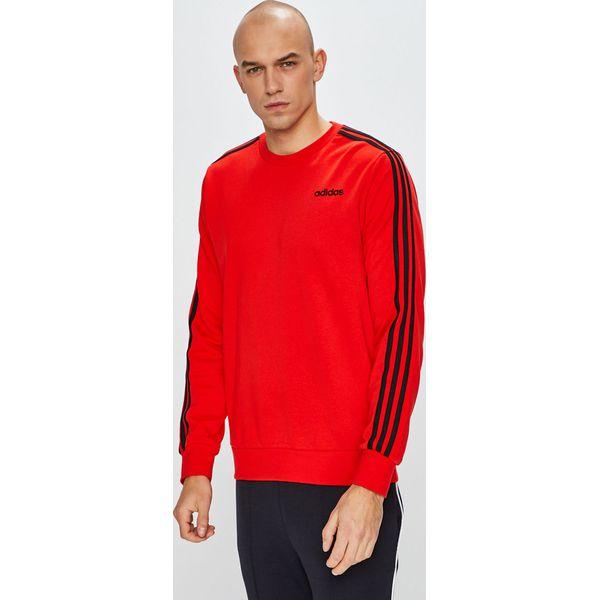 adidas Performance Freelift Daily 3 Stripes Bluza Czerwony