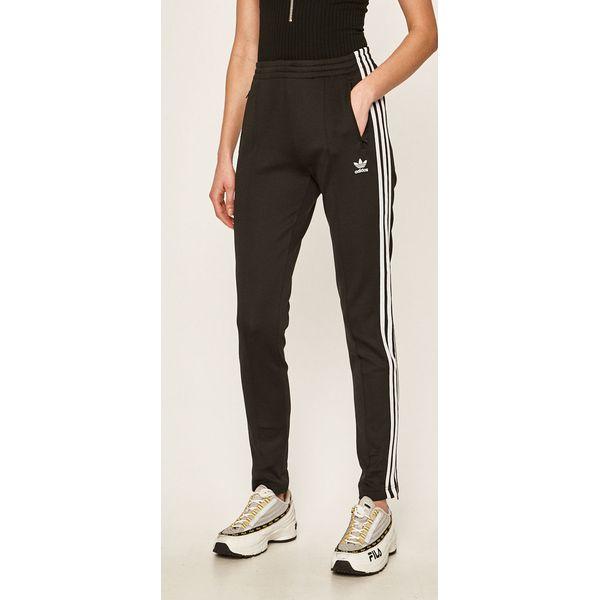 adidas Originals Spodnie Spodnie sportowe damskie czarne w