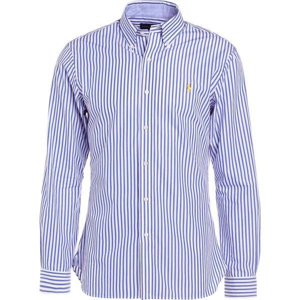 91be3f054b96 Polo Ralph Lauren POPLIN CUSTOM FIT Koszula blue - Niebieskie ...
