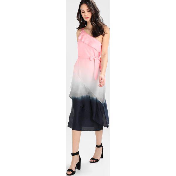 e1975ddea1 Banana Republic ONE SHOULDER OMBRE DRESS Sukienka letnia pink multi ...