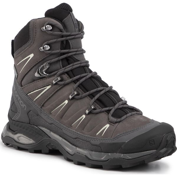 Trekkingi SALOMON X Ultra Trek Gtx W GORE TEX 407984 20 BlackMagmetMineral Grey