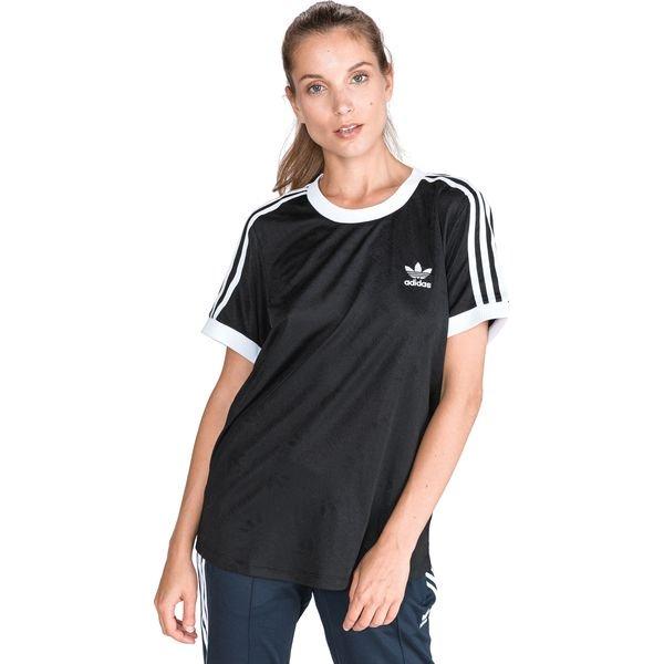 Adidas iconic 3 stripes bluza damska czarna złote