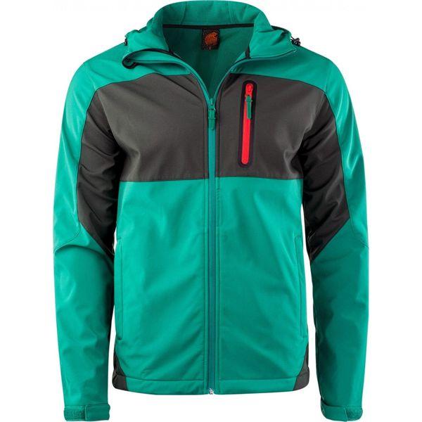 deb058f63ae77 IGUANA Kurtka męska Softshell Mosi Ultramarine Green r. XL - Fioletowe  kurtki sportowe męskie marki IGUANA, m, z softshellu. Za 229.99 zł.