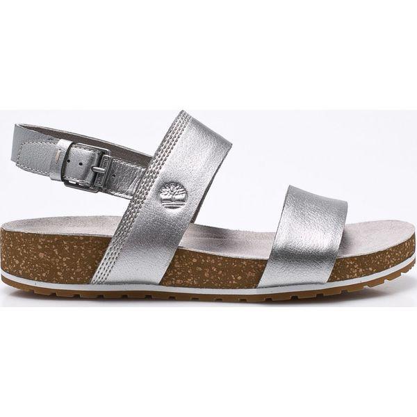 99a13bac6182b Timberland - Sandały - Szare sandały damskie marki Timberland, z ...