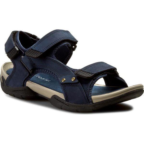 c73e4e63b7bcb Sandały GINO ROSSI - MN2443-TWO-BN00-5700-T 59 - Niebieskie sandały ...
