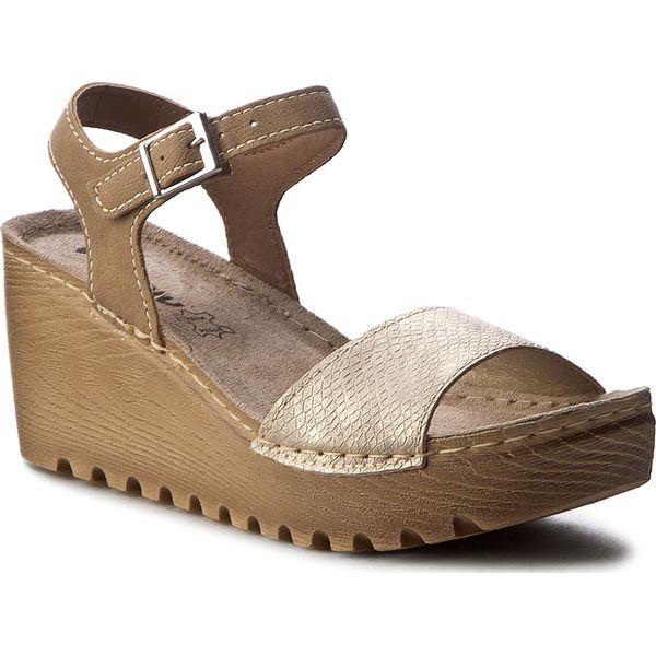 5cd2f7a3f Sandały INBLU - GT012641 Beżowy - Brązowe sandały damskie marki ...