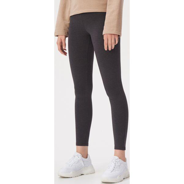nowe przyloty na sprzedaż online zamówienie Bawełniane legginsy - Szary