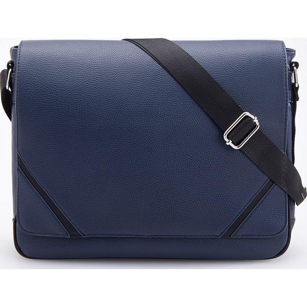 1b265353f97c5 Torba na ramię - Granatowy - Niebieskie torby na ramię męskie marki ...